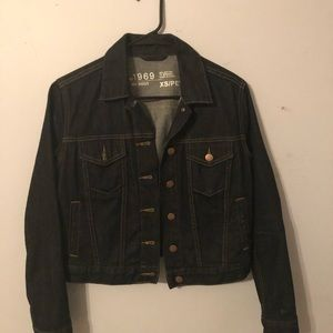 Gap XS Petite denim jacket